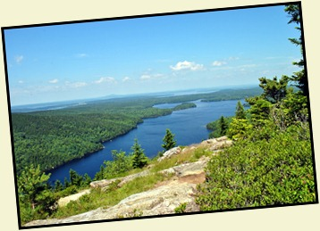 18l - July 5th Beech Mountain Hike - View of Long Pond