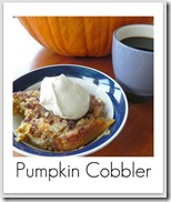 easy pumpkin dessery
