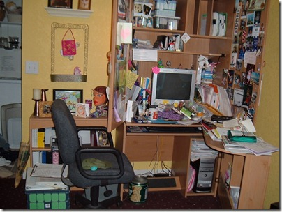Cluttered Desk Lowers Productivity