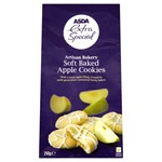 Asda Extra Special Artisan Bakery Soft Baked Apple Cookies 250g