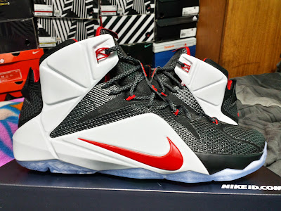 nike lebron 12 id production jrlyon 1 01 NIKEiD LeBron 12 Inspired by AZG Playoff PE Bulid by JR LYON