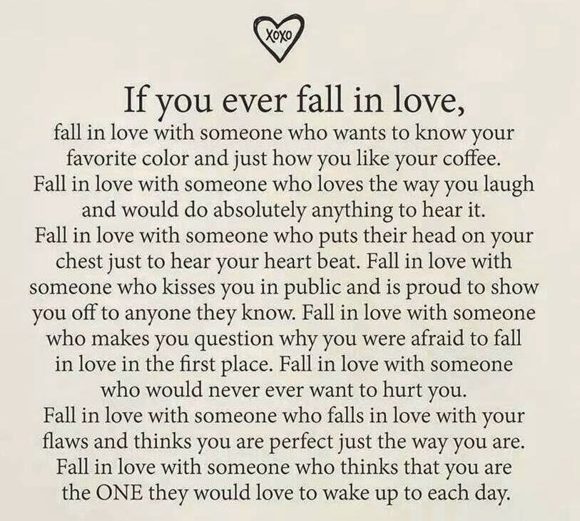 Fall in  LOVE with  so...