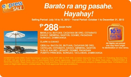 airphil seat sale