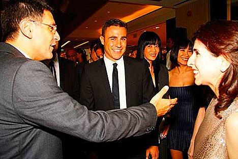 Douglas and Odile Benjamin, Fabio Cannavaro