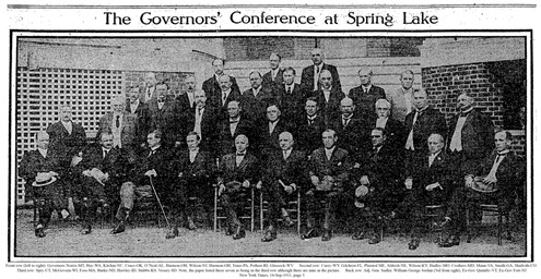 William George Jordan and Governors - 1911-09-14 NYT