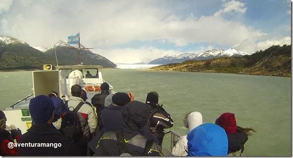 A caminho do Perito Moreno