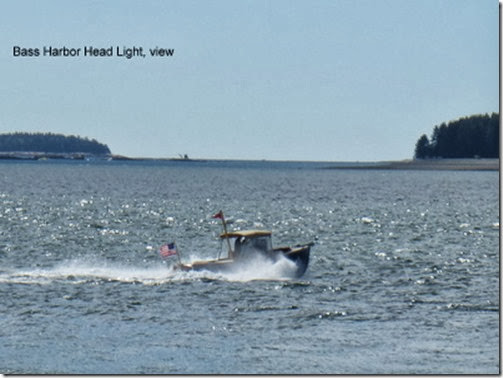 Bass Harbor Head Light, view