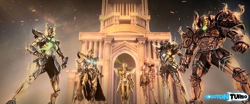 La Pelicula de los Caballeros del Zodiaco