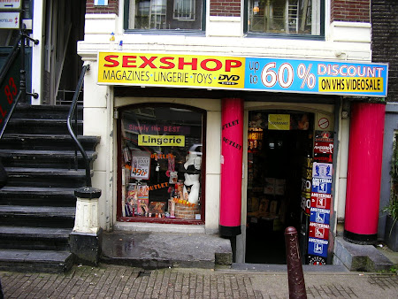 Amsterdam; Sex Shop