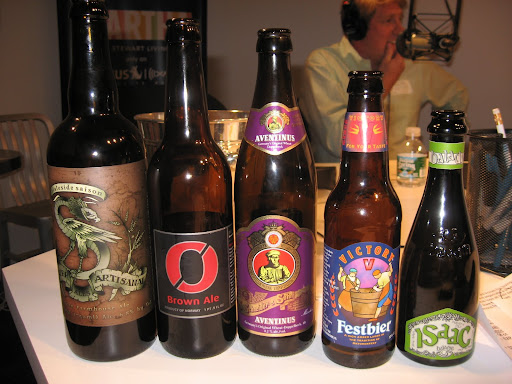 Greg brought a selection of five beers that pair well with the popular tailgating foods.  Think wings, chili, sliders, pizza...