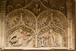 Salamanca cathedral annunciation
