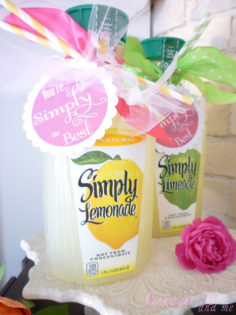 You're simply the best lemonade gift