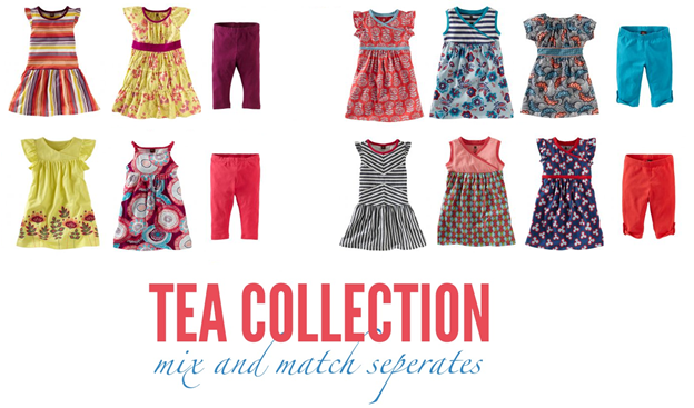 tea collection easy mix and match summer wardrobe helps kids dress themselves