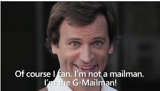 I am G-mailman