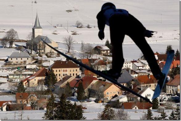APTOPIX France Word Cup Nordic Combined Ski