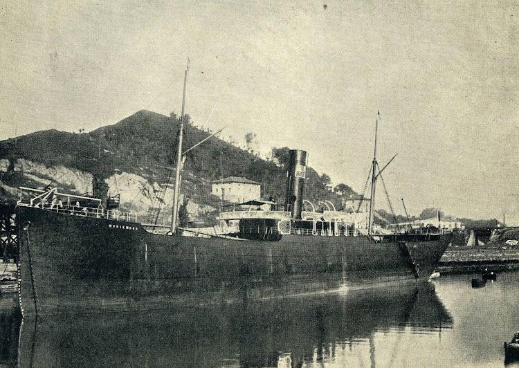 Vapor NOVIEMBRE. Foto de la revista EL MUNDO NAVAL ILUSTRADO. Año 1900.jpg