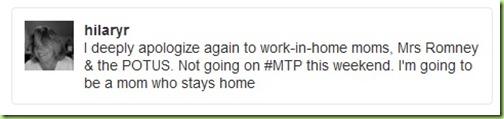 hilaryrosen tweet #MTP