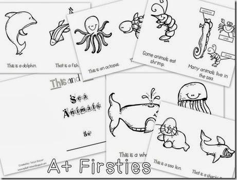 Sea Animals Reader