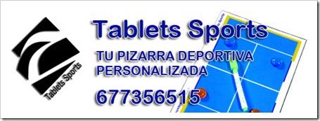 Tablets Sports: pizarras exclusivas para pádel y otros deportes 100% personalizables.