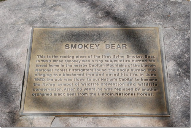 04-11-13 B Smokey Bear Historical Park Capitan 023