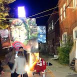 street party at Nuit Blanche 2014 in Toronto, Ontario, Canada
