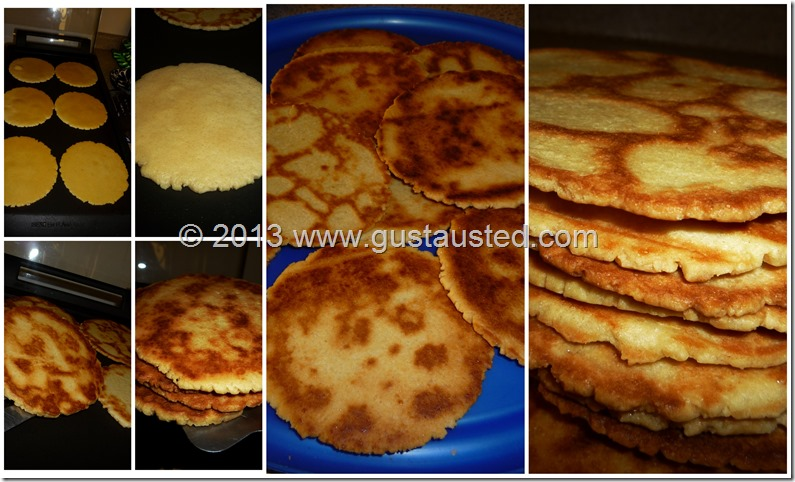 Gorditas de harina 600 g 40 galletas