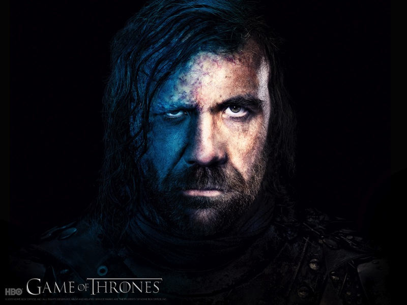 Game of Thrones season 3 wallpaper Sandor