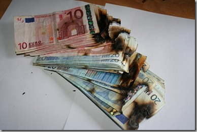 EUROS QUEMADOS