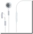 Auricolari Apple con telecomando e microfono