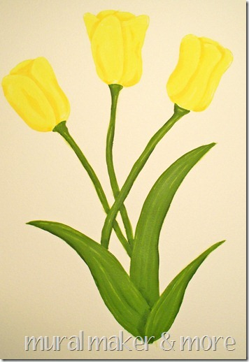 tulip paint tutorial