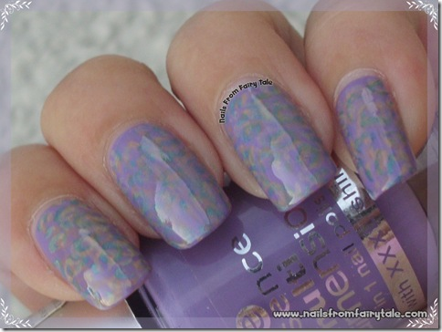 pastel multistamping leopard print 2