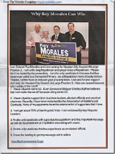 roy morales campaign email