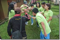 outbound fun gathering di puncak