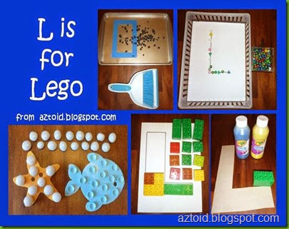 L is for Lego