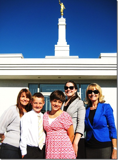 Temple Baptisms