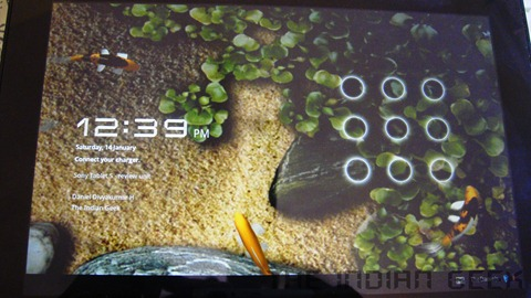 Sony Tablet S - Software and Performance