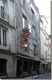 Maison de Nicolas Flamel. La plus vieille maison de Paris