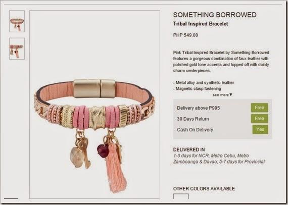 tribal bracelet zalora