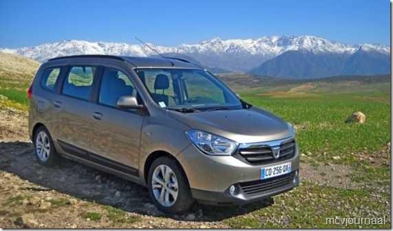 Dacia Lodgy testdagen 19