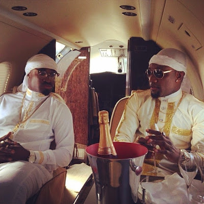 CHECK OUT KCEE & HARRYSONG'S PHOTO