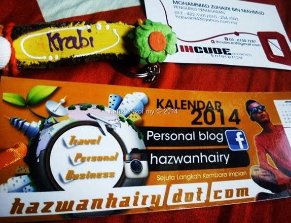 Kiriman Dari Blogger Hazwan Hairy