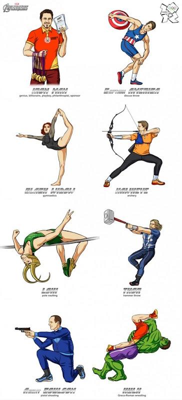 kahramanlar olimpiyatlarda