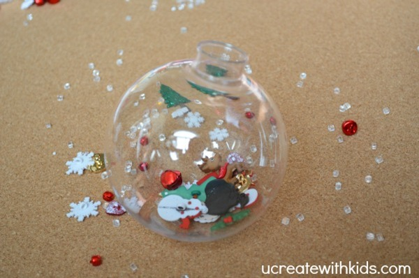 I Spy Christmas Ornament tutorial 1