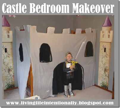 Castle Bedroom Makeover