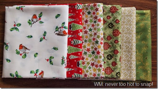 2014 Christmas fabric from J&A