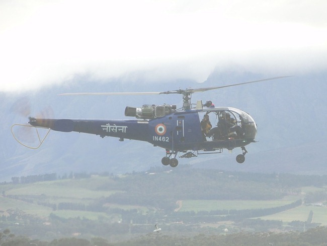 Indian Navy Chetak Helicopter [Aerospatiale Alouette III]