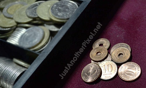 Do you still keep these 5 and 10 cent coins