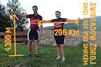 3 dni jazdy: przejechane 206km w poziomie i 4300m w pionie