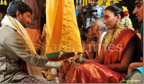 Telugu Hero Nani Marriage Photos