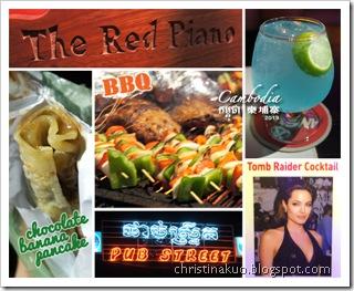 美食篇 - Pub Street: 暹羅市區酒吧街~